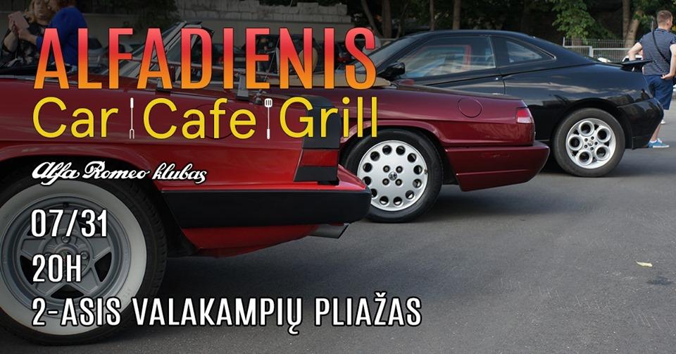 AlfaDienis Vilniuje 2019-07-31 + Grill