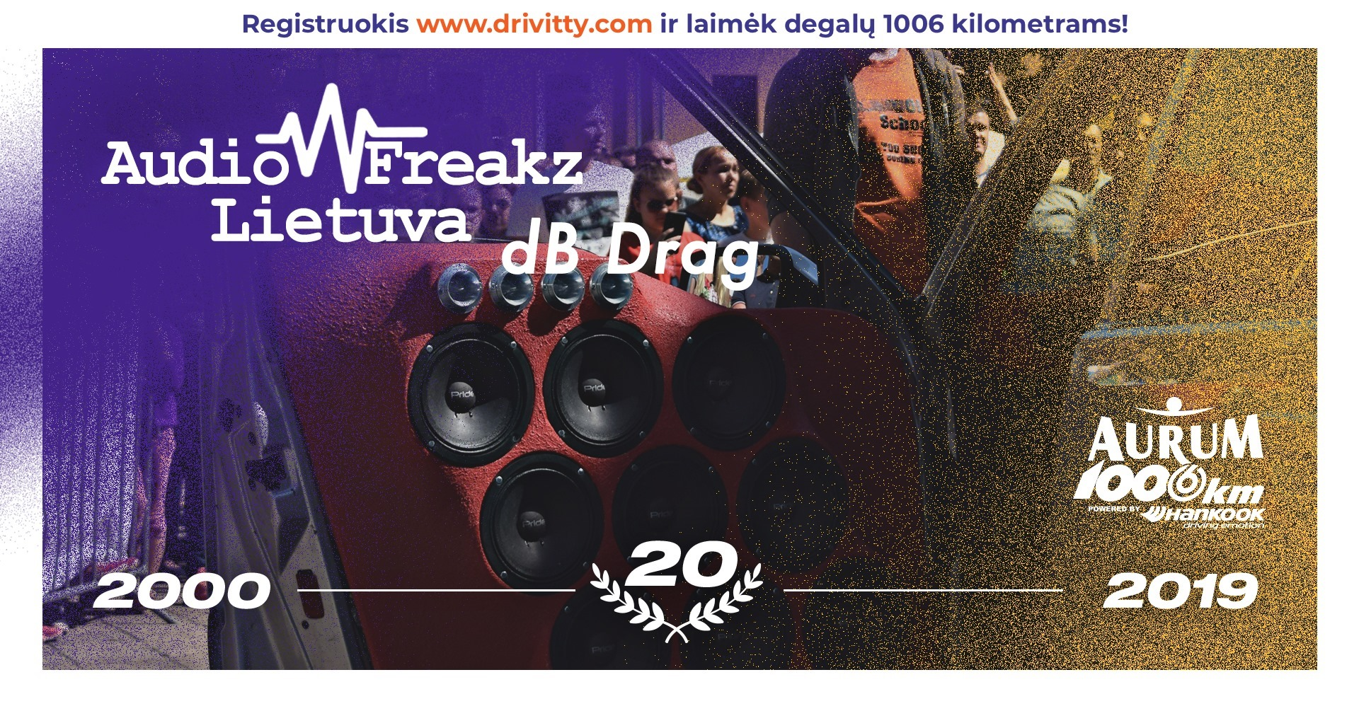 Audio Freakz Lietuva dB Drag