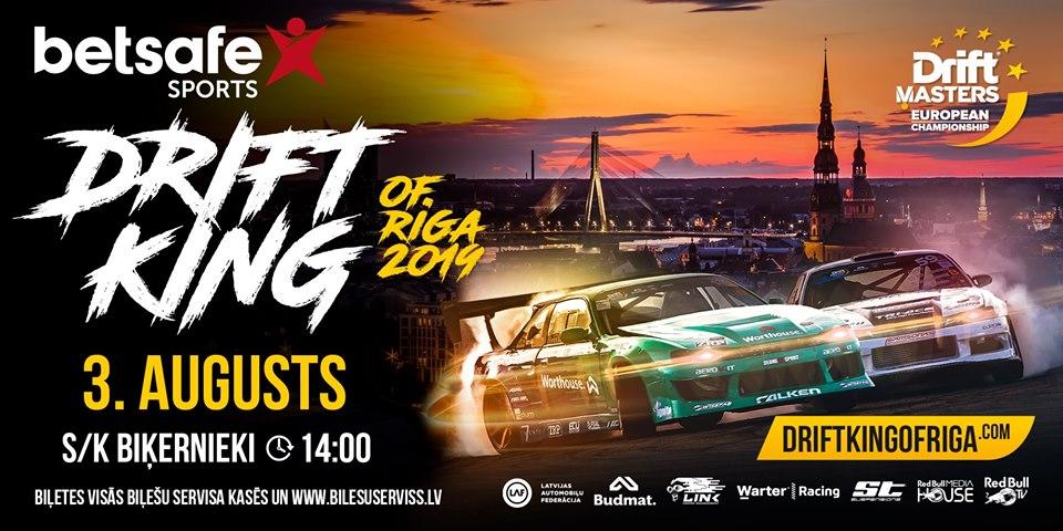 Betsafe Drift King of Riga 2019