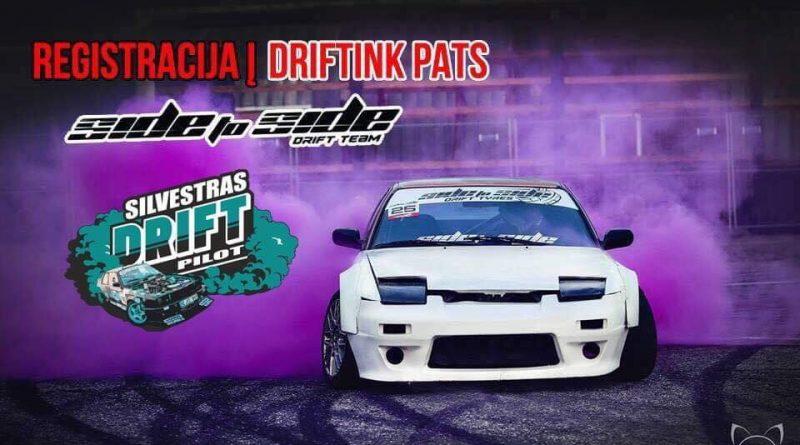 #DriftinkPats Kėdainiuose 07.07