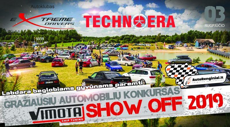 """Gražiausių automobilių konkursas """"Vimota Show off"""" 2019"""