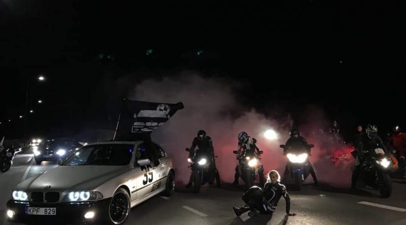 Kauno BMW E39 ir draugų NIGHT RIDE #4 sezono meet'as