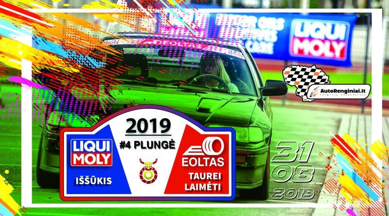 Liqui Moly iššūkis Eolto taurei laimėti 2019 - 4 etapas Plungė