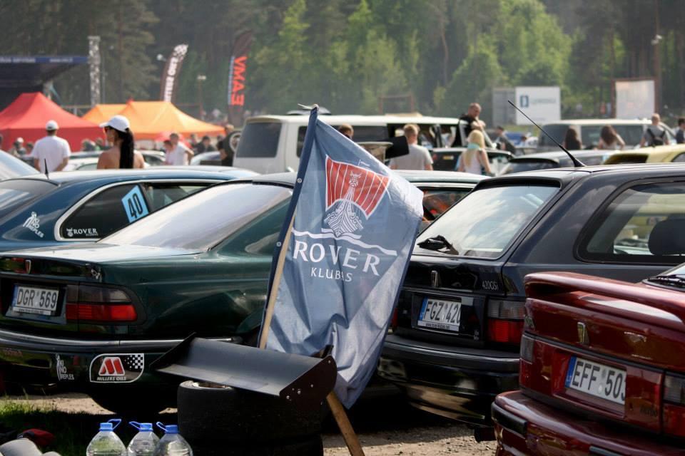 MG, Rover automobilių meetas Vilniuje!
