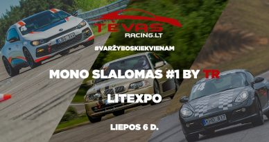 Mono Slalomas #1 by TR | Litexpo