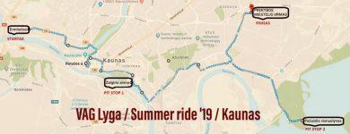 VAG Lyga / Summer ride '19 / Kaunas