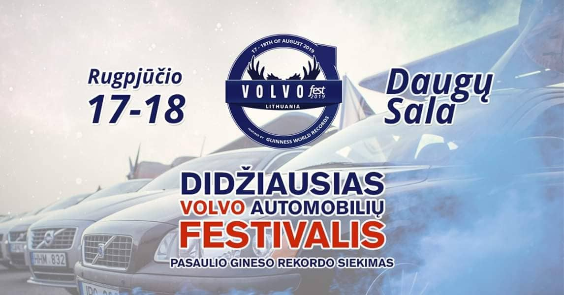VOLVO SummerFest Lithuania 2019