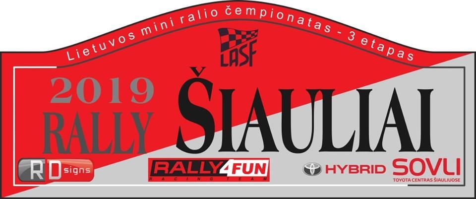 Lietuvos mini ralio čempionato 3 etapas Šiauliuose