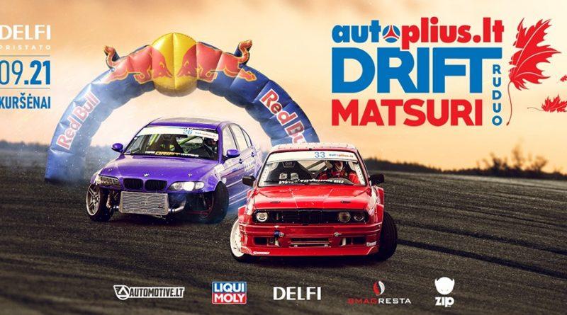 Autoplius.lt Drift Matsuri - Ruduo 09.21 Kuršėnų autodromas