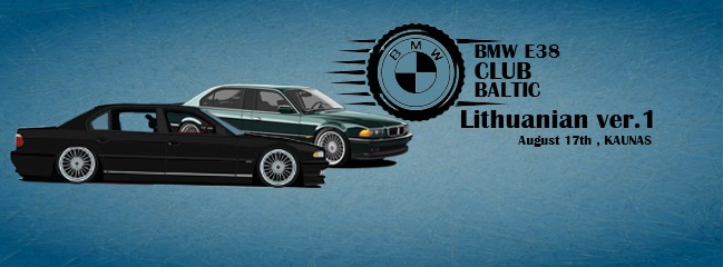 Bmw e38 Baltic Club Lithuanian v.1