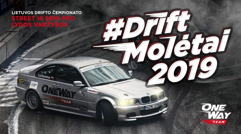 Drift Molėtai 2019. Semi-Pro ir Street varžybų finalas