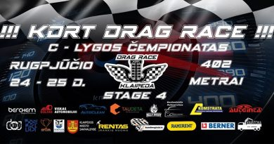 KDRT Drag STAGE 4 C lygos Čempionatas