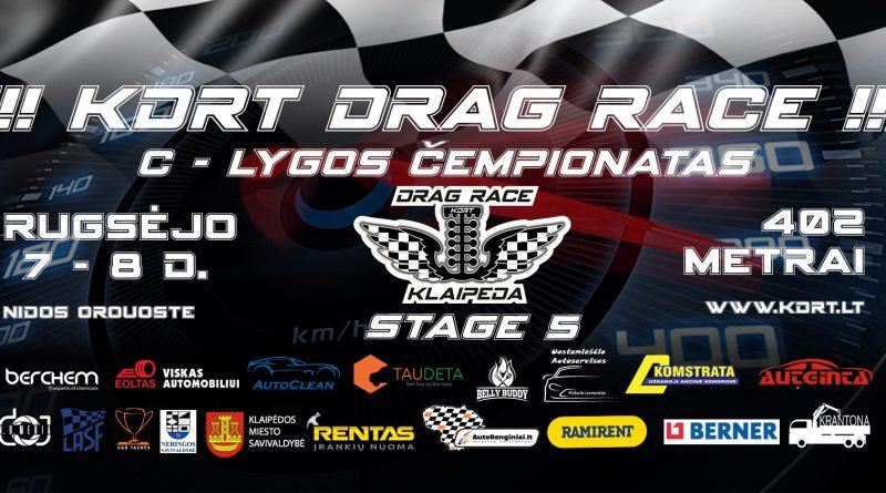 KDRT Drag STAGE 5 C lygos Čempionatas