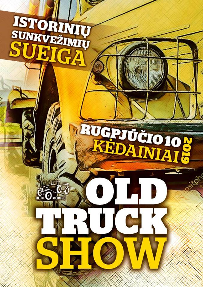 Old truck show