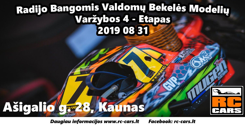 Radijo Bangomis Valdomų Bekelės Modelių Varžybos Kaune 4 Etapas