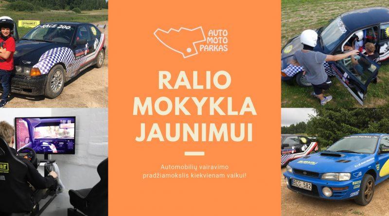 Ralio automobilių vairavimo mokykla jaunimui