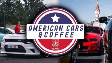 American cars & coffee Vilniuje 2019-09-19