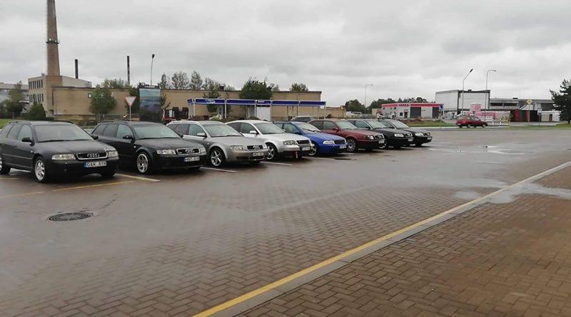 Audi Susitikimas Šilutėje