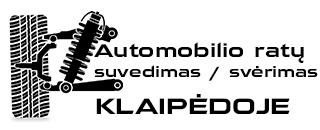 Automobilio ratų suvedimas ir svėrimas Klaipėdoje