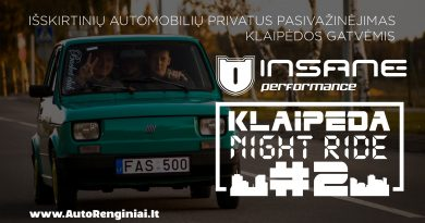 Insane Performance Klaipėda Night Ride #2