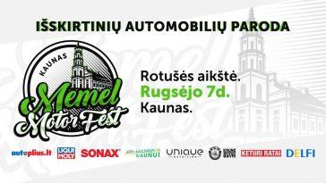 Kaunas. Memel Motor Fest