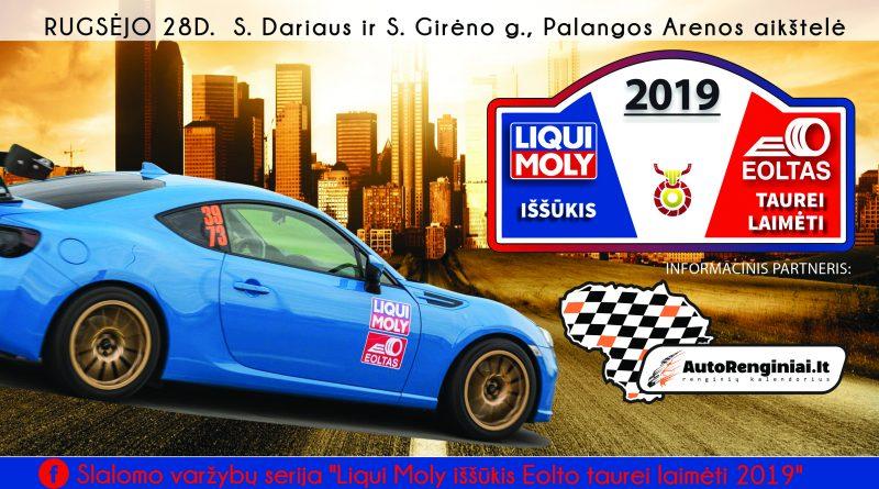 Liqui Moly iššūkis Eolto taurei laimėti 2019 - 5 etapas FINALAS