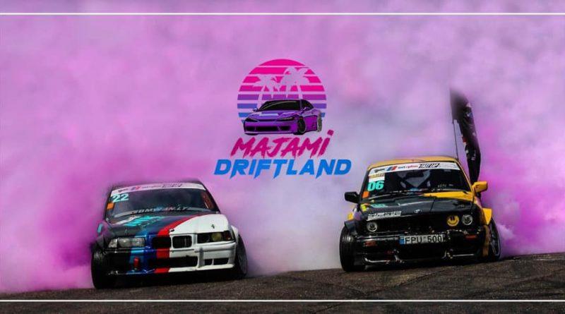BMW FAN sezono uždarymas Majami Driftland