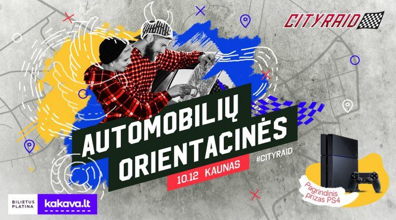 Cityraid Kaunas 2019.10.12