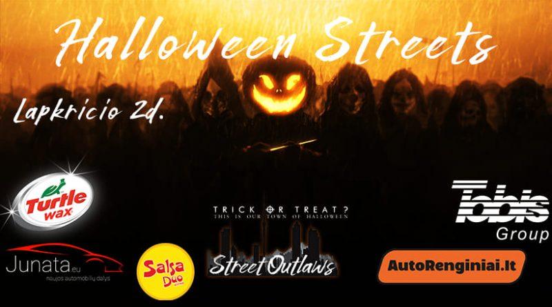 Halloween Streets by Klaipėda Street Outlaws