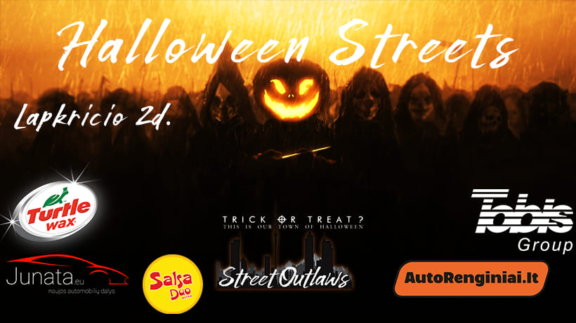 Halloween Streets by Klaipėda Street Outlaws