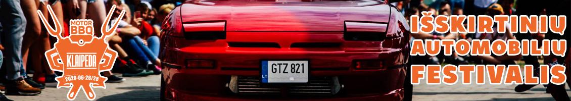 Išskirtinių automobilių festivalis - Klaipėda Motor BBQ 2020