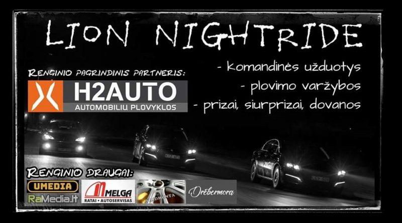 Panevėžio Peugeot klubas - Lion NightRide