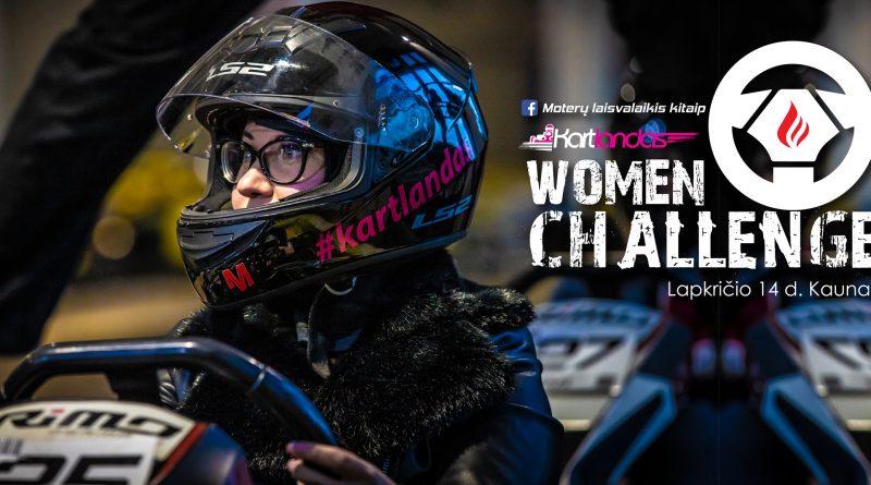 Women Challenge #2. Kartingo varžybos moterims. Kartlandas