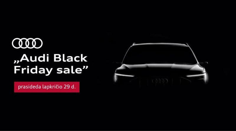 Audi Black Friday sale atidarymo renginys Klaipėdoje