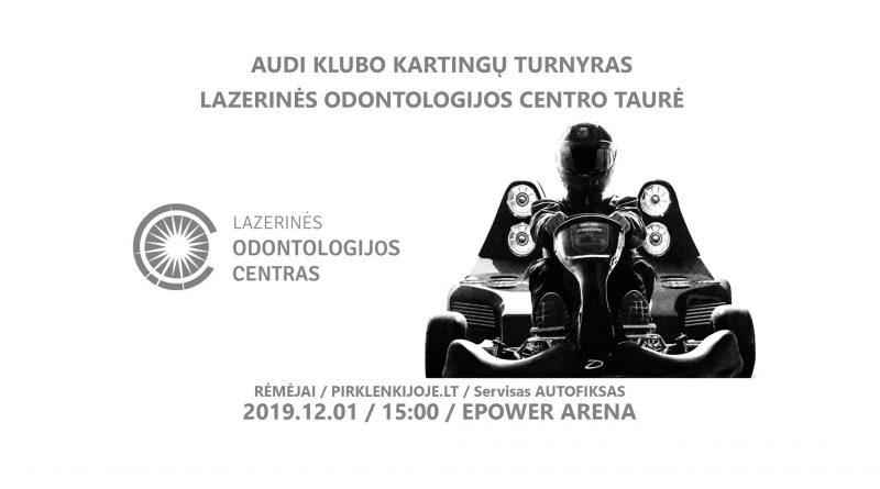 Audi Klubo rudens kartingų turnyras