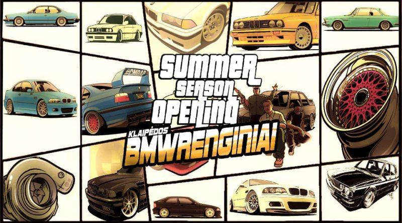 Klaipėdos BMW Renginiai Summer Season Opening 2k20
