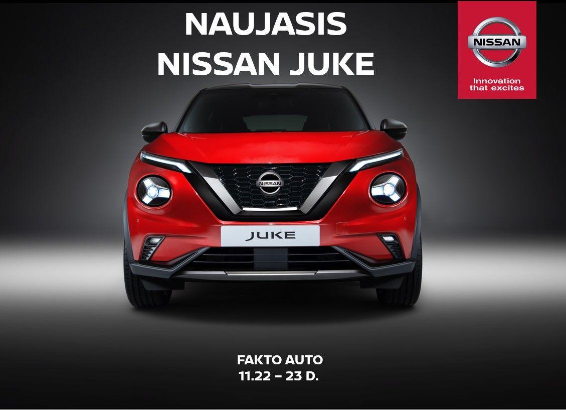 Naujojo Nissan JUKE pristatymas
