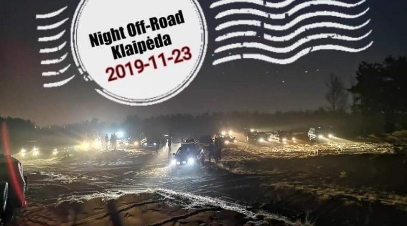 Night Off-Road Klaipėda