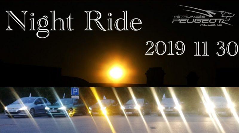 NIGHT RIDE 2019 Pasitikime sutemą kitaip