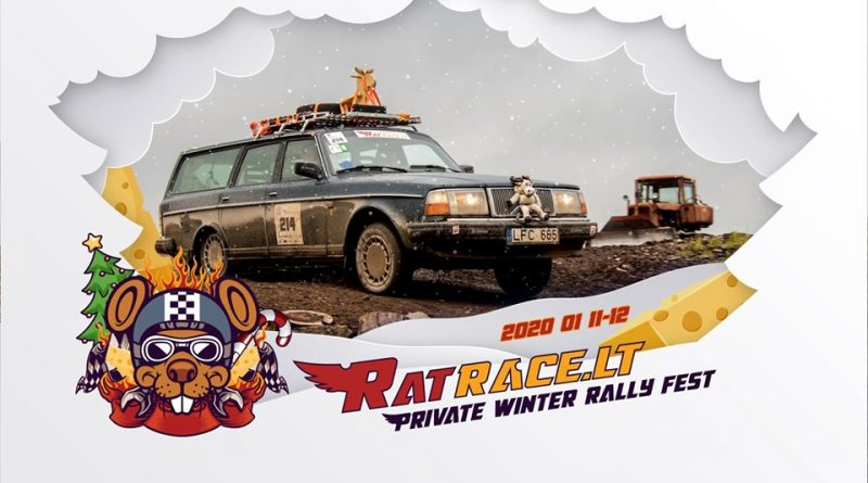 RatRace.lt Winter Carnival Rally 2020
