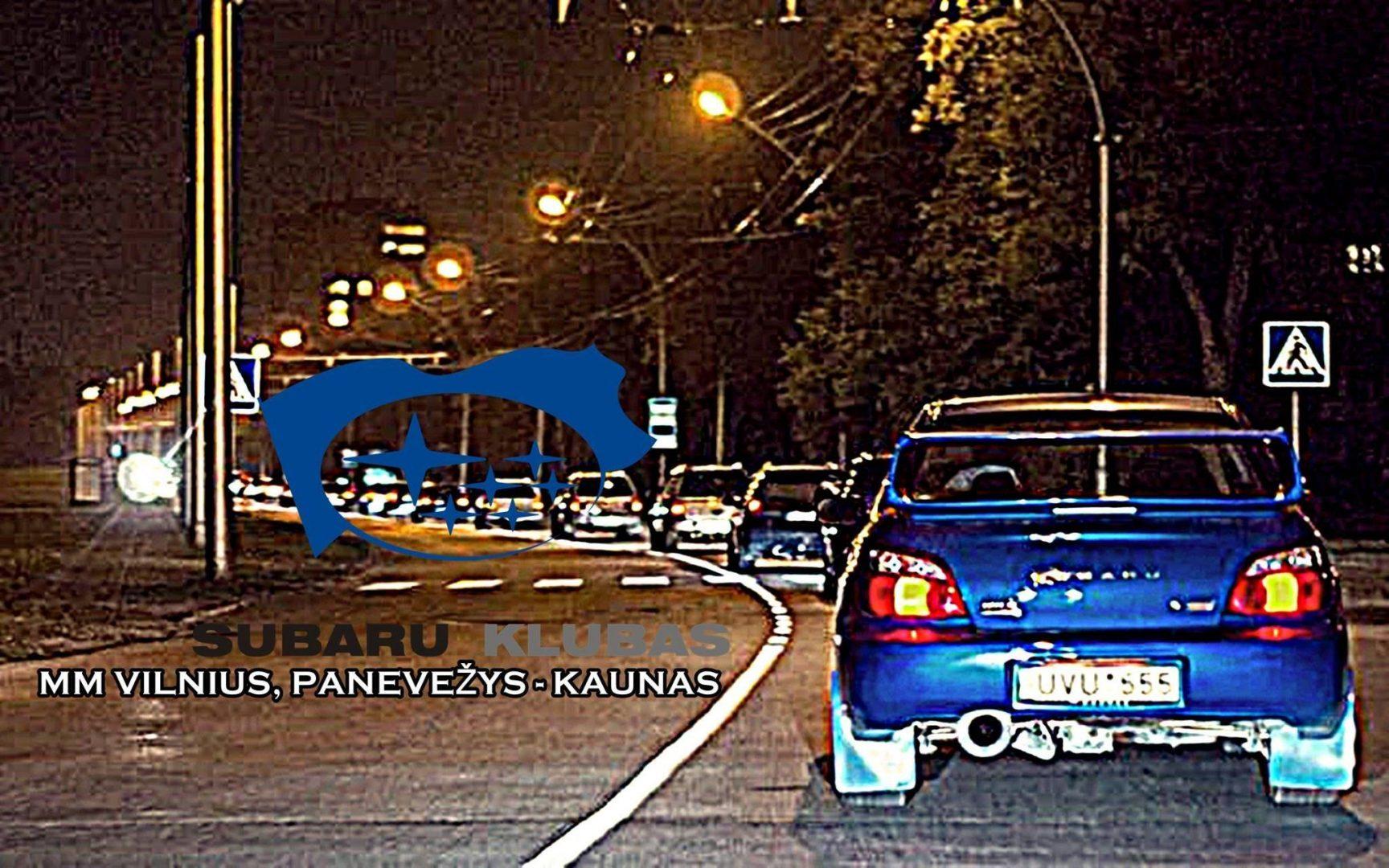 Subaru Klubas MM Vilnius Panevėžys Kaunas
