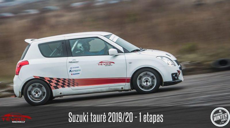 Suzuki Taurė 2019/20 - 1 etapas