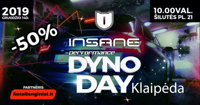 Insane Performance Dyno Day Klaipėda