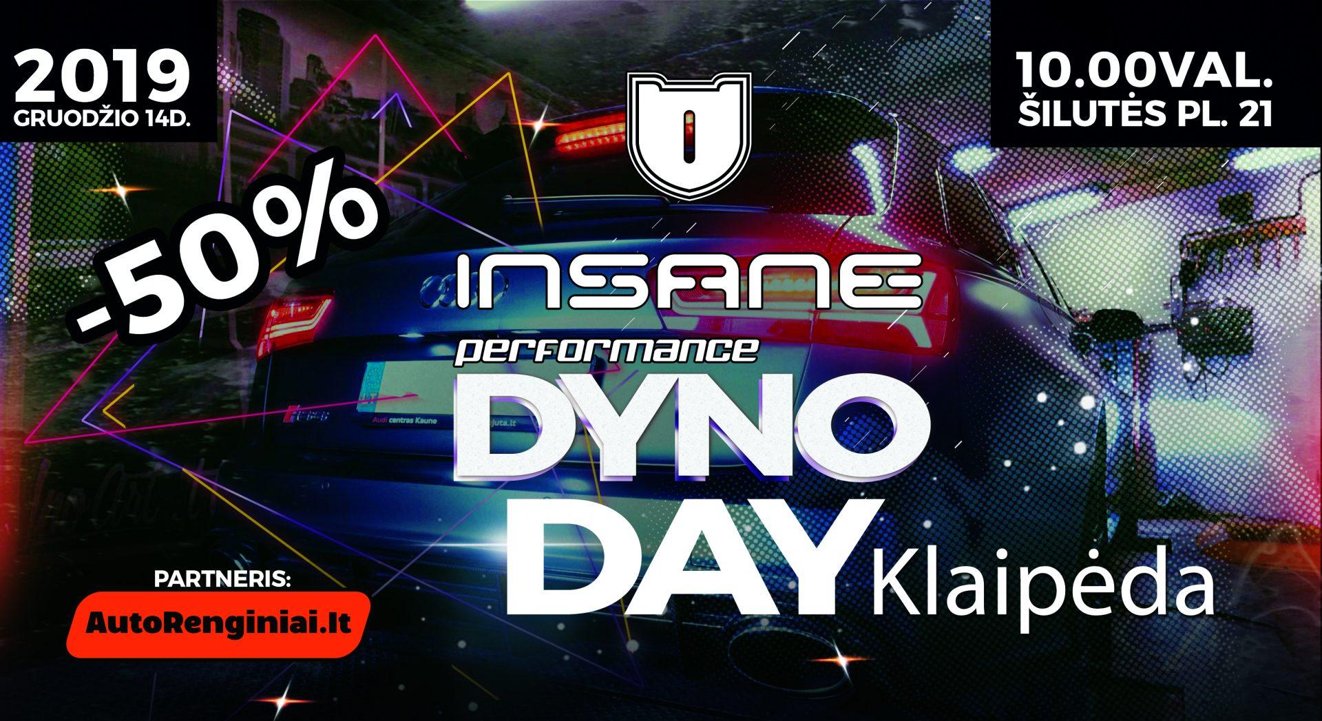 Insane Performance Dyno Day Klaipėda