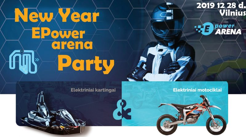 New Year EPower Arenos Party.