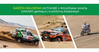 Dakaro renginys Klaipėdoje!
