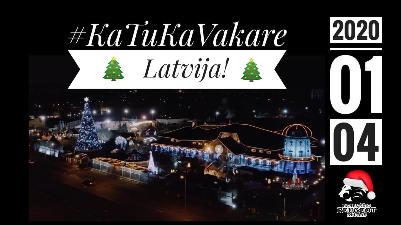 Panevėžio Peugeot Klubas - #KaTuKaVakare - Latvija!