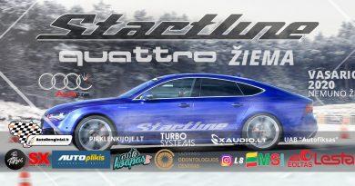 Startline quattro žiema 2020