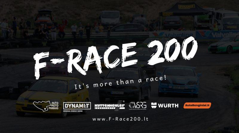F-Race 200 III Etapas