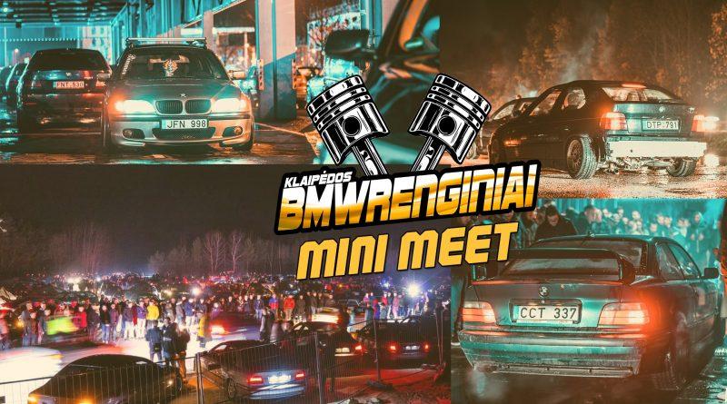 Klaipėdos BMW renginiai MINI MEET - waiting for season
